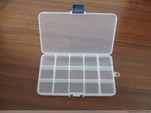 J450 Clear plastic jewelry beads jewelry accessories display box cheap price