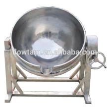 Chaleiras de cozimento duplo de vapor de aço inoxidável com agitador