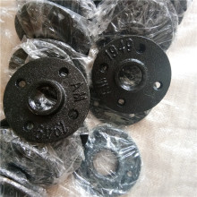 malleable iron black floor flange for furniture