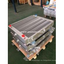 Fabricación de intercambiador de calor para el tractor