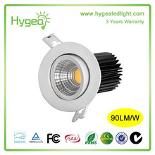 downlight 3 years warranty CeilIng suspended LED downlight 10w gimbal led downlight