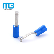 Whosale Blue Copper Solderless Insulated Lipped Blade Terminal Lugs