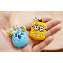 Fashionable Cartoon Silicone Rubber Key Chains/Keyring