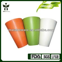 Gobelets à fibres de bambou biodégradables