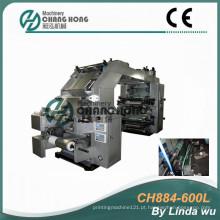 Máquina de impressão Flexographic da folha de alumínio (CH884-600L)