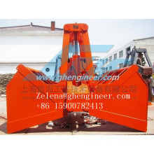 Electric-Hydraulic Grab for Handling Powder and Bulk Materials