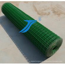 Red de cría, venta caliente PVC recubierto de malla de alambre soldado con autógena