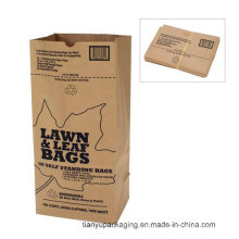 Saco de lixo de papel Kraft doméstico ou comunitário