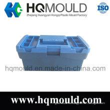 Caja de herramientas de inyección de plástico personalizada / molde de la caja de trabajo