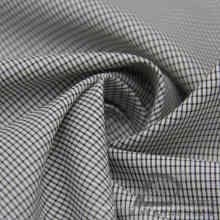 Wasser & Wind-resistente Mode Jacke Daunenjacke gewebt Plaid Jacquard 100% Polyester Kationische Garn Filament Stoff (X031)