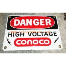 Signe de porcelaine de émail de émail de Sunboat / panneau d'avertissement d'émail