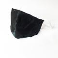 Masque facial en soie de coton à boucle d'oreille ajustable pour unisexe