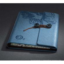 Кожа спираль ноутбук для подарков компании