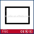 Cuadrado de trazo delgado de brillo regulable LED dibujo y copiar tabla