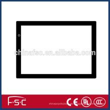 Quadratische dimmbare Helligkeit LED slim Ablaufverfolgung zeichnen und kopieren board