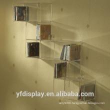 Wall-mounted Acrylic CD Holder