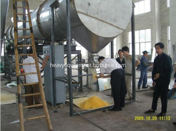 Food rotary dryer