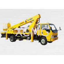 Durable Reaching Up And Over Machinery Truck Mounted Lift ,