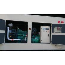 370kVA Гуанчжоу трехфазный генератор водяного охлаждения двигателя Volvo Шумозащитные