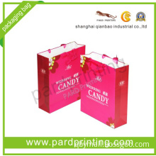 Customized Festival Gift Packaging Paper Bag (QBC-1465)
