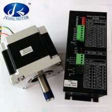 Nema 42 Stepper Motor of 4120oz-in 28nm and Driver 8A 110-230VAC for CNC Mill