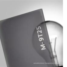 OLEG professional translucent plastic transparent black acrylic sheet