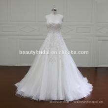 XF5874 Robe de mariée en robe de luxe