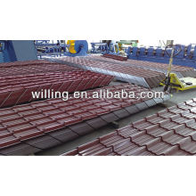 French roof tile/ Color/Galvanized corrugated roofing sheet/Metal tile sheet