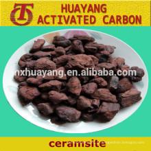 Manufatura de fornecimento de areia Ceramsite / Ceramsite para tratamento de águas residuais
