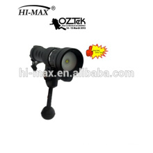 New arrival Magnetic Switch LED 860 Lumen 18650 battery dive light video