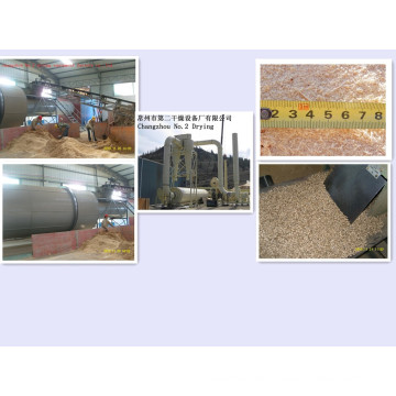 Sawdust Dedicated Trockenmaschine