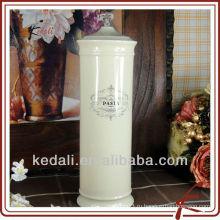 Герметичный контейнер для макаронных изделий из керамики
