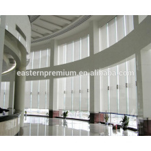 Customized motored waterproof Fabric Window Roller Blinds