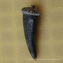 Art und Weise reale Horn-Kristallanhänger-Halsketten-Schmucksachen