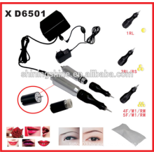 2016 hot sale eyebrow permanent makeup kit/ tattoo kit permanent machine machine