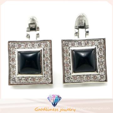 Jóias de moda masculina Jóias de prata esterlina 925 abotoaduras (A11C001)