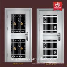 Porta de portão de design de portas de aço inoxidável Porta de porta de aço inoxidável Porta de aço americana