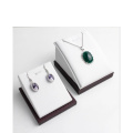 PU White Earring Pendant Display Wholesale (PS-WL-EP)