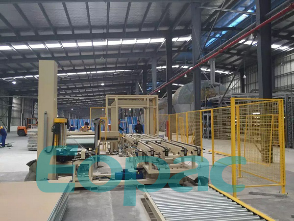 Fully Automatic On-line Pallet Wrapping Machine