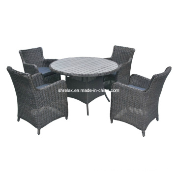 Outdoor Garden Furniture Rattan Wicker Chair Patio Dining Set