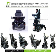 Deluxe Electric Standing Wheelchair for Disabled
