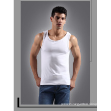 New Organic Cotton Wholesale Plain White Tank Top