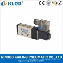 Pneumatische Ventil/zwei-Positions-fünf-Weg /Aluminum Legierung Luft Magnetventil