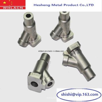 Valve solénoïde de moulage d'investissement en acier inoxydable OEM (pièces d'usinage)