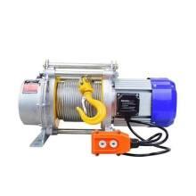 Polipasto elevador de cable con cabrestante eléctrico KCD 500/1000