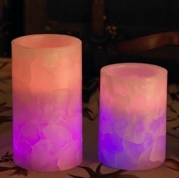 Wax decoration LED candles