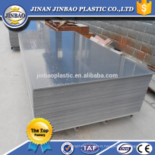100% virgin materiail plastic sheet thin 4mm 6mm 7mm pvc rigid board