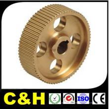 Peças de Máquinas / Custom Brass Product / CNC Machining Brass Part