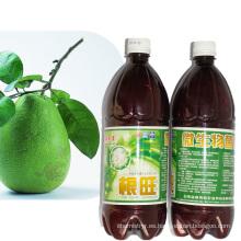 Acondicionador / fertilizante biológico de las raíces para un menor uso de pesticidas