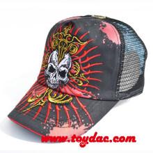 Hight Qualität Stickerei Skeleton Cap